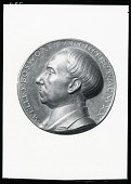 view Welles Bosworth Portrait Medal (obverse) [sculpture] / (photographed by Peter A. Juley & Son) digital asset number 1