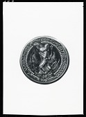 view Jeanne d'Arc Medal (reverse) [sculpture] / (photographed by Peter A. Juley & Son) digital asset number 1
