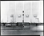 view Paul Manship's Seals on the New York Coliseum [photograph] / (photographed by Peter A. Juley & Son) digital asset number 1