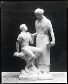 view Nancy Hanks and the Boy Abraham Lincoln [sculpture] / (photographed by Peter A. Juley & Son) digital asset number 1