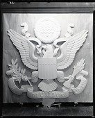 view Great Seal of the United States [sculpture] / (photographed by Peter A. Juley & Son) digital asset number 1