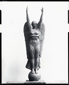 view Winged Female Figure [sculpture] / (photographed by Peter A. Juley & Son) digital asset number 1