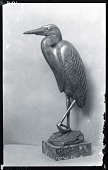 view Goliath Heron [sculpture] / (photographed by Peter A. Juley & Son) digital asset number 1