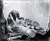 view Satyr and Sleeping Nymph [sculpture] / (photographed by Peter A. Juley & Son) digital asset number 1
