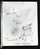 view Trois petites filles dans la rue [art work] / (photographed by Peter A. Juley & Son) digital asset number 1