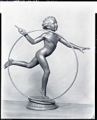 view The Big Hoop [sculpture] / (photographed by Peter A. Juley & Son) digital asset number 1