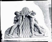 view The Southwest and the Northeast Divided by the Mississippi [sculpture] / (photographed by Peter A. Juley & Son) digital asset number 1