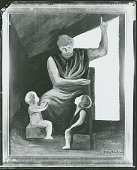 view The Teacher [painting] / (photographed by Peter A. Juley & Son) digital asset number 1