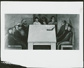 view Revolution and Universal Brotherhood:Table of Universal Brotherhood [fresco] / (photographed by Peter A. Juley & Son) digital asset number 1