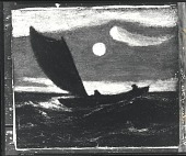 view Moonlit Marine [painting] / (photographed by Peter A. Juley & Son) digital asset number 1