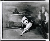 view Bernard Karfiol Playing Pool [painting] / (photographed by Peter A. Juley & Son) digital asset number 1