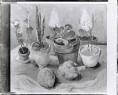 view Plants and Artichokes [painting] / (photographed by Peter A. Juley & Son) digital asset number 1