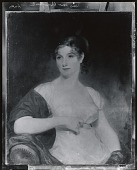 view Mrs. William Chamberlain (Cornelia Mitchell) [painting] / (photographed by Peter A. Juley & Son) digital asset number 1