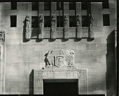 view Louisiana State Capitol, Rulers of Louisiana [sculpture] / (photographed by Peter A. Juley & Son) digital asset number 1