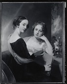 view The Sisters [painting] / (photographed by Peter A. Juley & Son) digital asset number 1