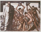 view The Martyrdom of St. Stephen [painting] / (photographed by Peter A. Juley & Son) digital asset number 1