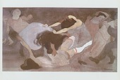 view House of Tears: Fighting Women [painting] / (photographed by Peter A. Juley & Son) digital asset number 1
