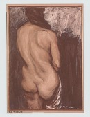 view Nude, [painting] / (photographed by Peter A. Juley & Son) digital asset number 1