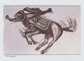 view Study: Centaur [painting] / (photographed by Peter A. Juley & Son) digital asset number 1