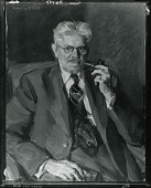 view Portrait of a Man Holding a Pipe [painting] / (photographed by Peter A. Juley & Son) digital asset number 1