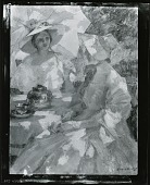 view Two Women at Tea [painting] / (photographed by Peter A. Juley & Son) digital asset number 1