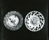 view Two Ceramic Plates [decorative arts] / (photographed by Peter A. Juley & Son) digital asset number 1
