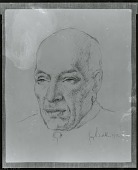 view Jawaharlal Nehru [drawing] / (photographed by Peter A. Juley & Son) digital asset number 1