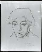 view Portrait of a Man [drawing] / (photographed by Peter A. Juley & Son) digital asset number 1
