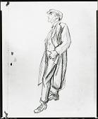 view Standing Man [drawing] / (photographed by Peter A. Juley & Son) digital asset number 1