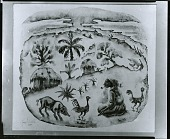 view Seated Woman in Haitian Landscape [painting] / (photographed by Peter A. Juley & Son) digital asset number 1