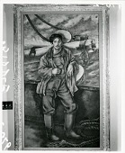 """view Portrait of Actor John Qualen in """"The Long Voyage Home"""" [painting] / (photographed by Peter A. Juley & Son) digital asset number 1"""