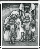 view Haitian Mothers and Children [painting] / (photographed by Peter A. Juley & Son) digital asset number 1