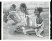 view Three Haitian Children [painting] / (photographed by Peter A. Juley & Son) digital asset number 1
