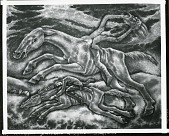 view Headless Horseman of Sleepy Hollow [painting] / (photographed by Peter A. Juley & Son) digital asset number 1