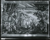view Century of Progress Mural: Agriculture [painting] / (photographed by Peter A. Juley & Son) digital asset number 1