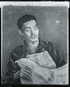view Portrait of Yasuo Kuniyoshi [painting] / (photographed by Peter A. Juley & Son) digital asset number 1