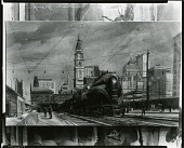 view Railway Mural Group [painting] / (photographed by Peter A. Juley & Son) digital asset number 1