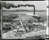 view Brick Yards Glasgo [painting] / (photographed by Peter A. Juley & Son) digital asset number 1