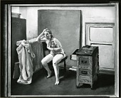 view Studio Interior [painting] / (photographed by Peter A. Juley & Son) digital asset number 1