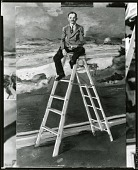 view The Mural Assistant [painting] / (photographed by Peter A. Juley & Son) digital asset number 1