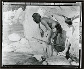 view The Two Hunters [painting] / (photographed by Peter A. Juley & Son) digital asset number 1