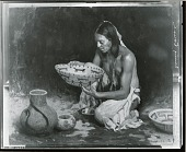 view The Pinon Basket [painting] / (photographed by Peter A. Juley & Son) digital asset number 1