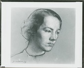 view Mrs. Charles A. Lindbergh [drawing] / (photographed by Peter A. Juley & Son) digital asset number 1