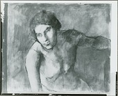view No Title Given: Male Figure [painting] / (photographed by Peter A. Juley & Son) digital asset number 1