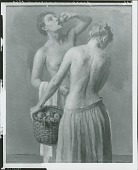 view Figure Arrangement #9, [painting] / (photographed by Peter A. Juley & Son) digital asset number 1