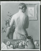 view Arrangement with Nude and Still Life [painting] / (photographed by Peter A. Juley & Son) digital asset number 1
