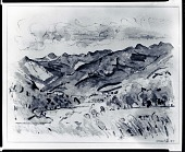 view Along Ausable River [drawing] / (photographed by Peter A. Juley & Son) digital asset number 1