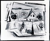 view Deer Isle, Stonington, Maine [painting] / (photographed by Peter A. Juley & Son) digital asset number 1