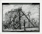 view Soldiers on a Training Course [painting] / (photographed by Peter A. Juley & Son) digital asset number 1