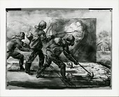 view Mustard Gas Drill [painting] / (photographed by Peter A. Juley & Son) digital asset number 1